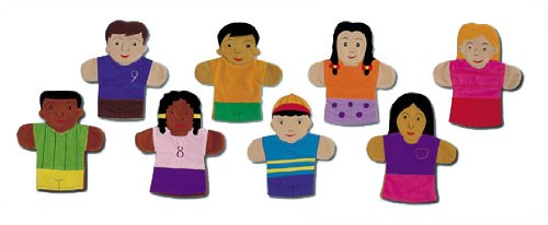 Multicultural Dolls & Puppets: Multicultural Hand Puppets