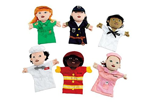 Multicultural Dolls & Puppets: Deluxe Career Puppets