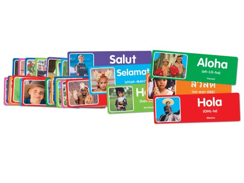 Multicultural Games & Puzzles: Hello from around the World Cards