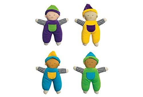 Multicultural Dolls & Puppets: Multicultural Velour Soft Babies