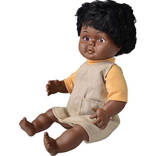 "Multicultural Dolls & Puppets: 16"" Multi-Ethnic Doll- Black Girl"