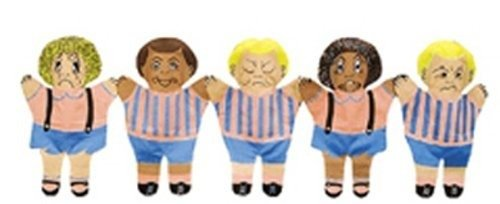 Multicultural Dolls & Puppets: Feelings Hand Puppets