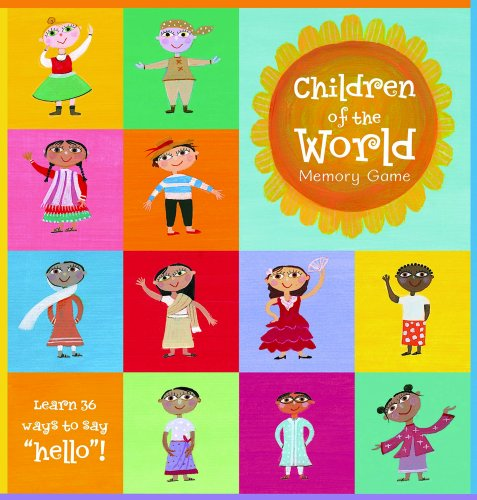 Multicultural Games & Puzzles: Children of the World Memory Game