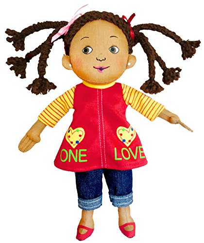 Multicultural Dolls & Puppets: One Love Plush Doll, 9""