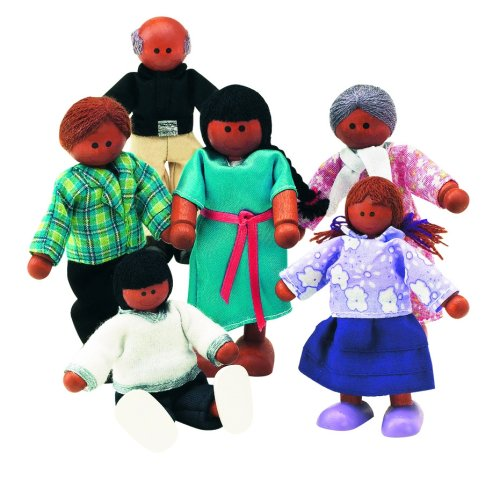 Multicultural Play Figures