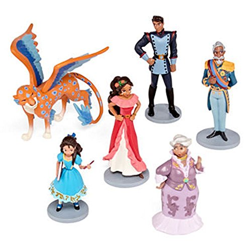 Multicultural Disney Toys: Elena of Avalor Figurine Set