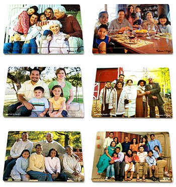 Multicultural Games & Puzzles: Multicultural Families Puzzle Set