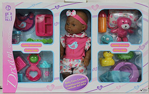 Multicultural Dolls & Puppets: Baby Care Combo Playset
