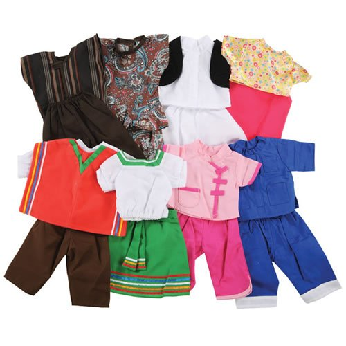 Multicultural Dolls & Puppets: Multicultural Doll Clothes