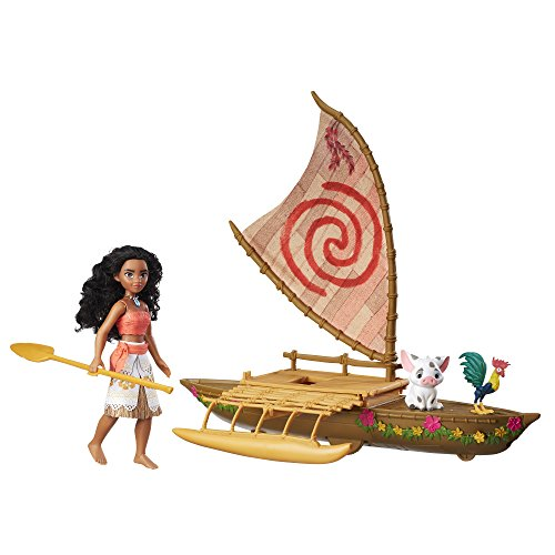 Multicultural Disney Toys: Moana Canoe Play Set
