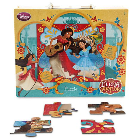 Multicultural Disney Toys: Elena of Avalor Puzzle