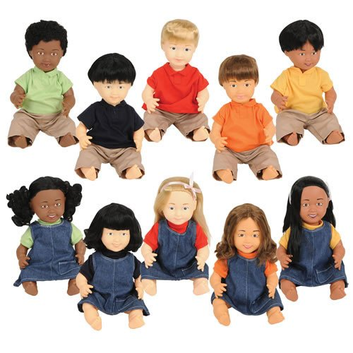 Multicultural Dolls & Puppets: Multiethnic Dolls