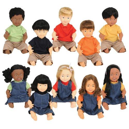Multicultural Dolls & Puppets: Multiethnic Dolls