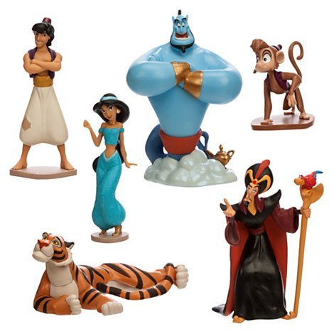 Multicultural Disney Toys: Aladdin Play Figure Set