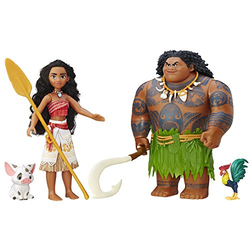 Multicultural Disney Toys: Moana Adventure Collection