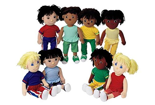 Multicultural Dolls & Puppets: Cuddle Buddies
