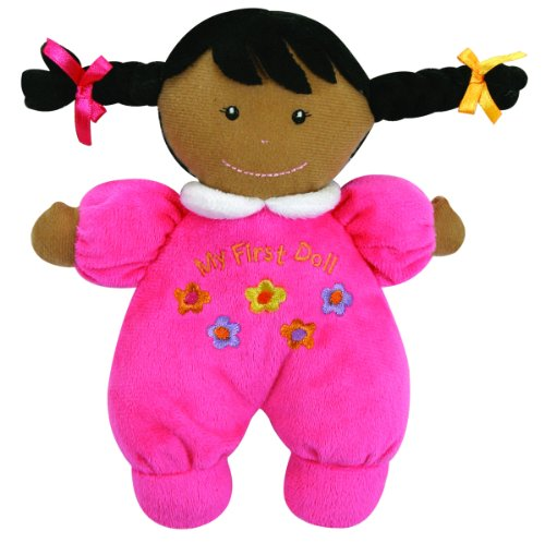 Multicultural Dolls & Puppets: Ultra Soft Plush My First Doll