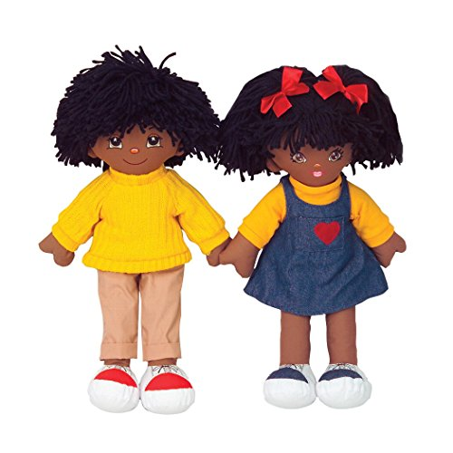 Multicultural Dolls & Puppets: African American Boy Doll