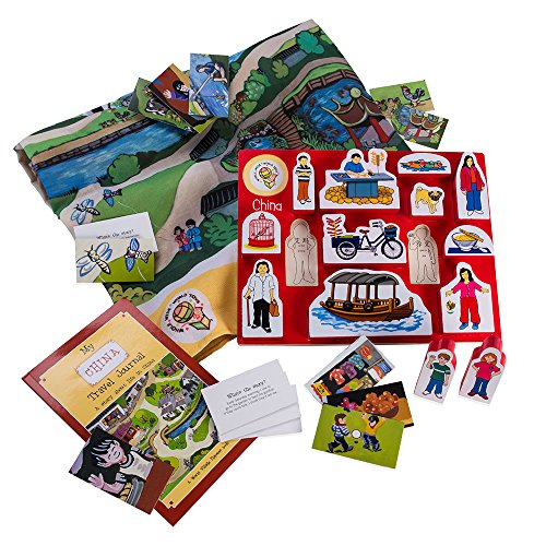 Multicultural Games & Puzzles: World Village China Adventure Kit