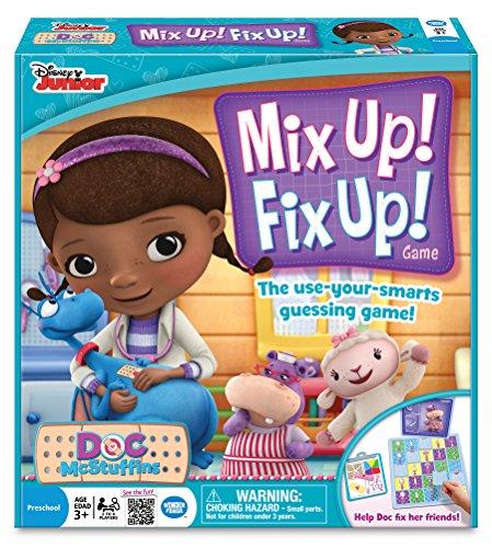 Multicultural Games & Puzzles: Doc McStuffins Mix Up Fix Up Game