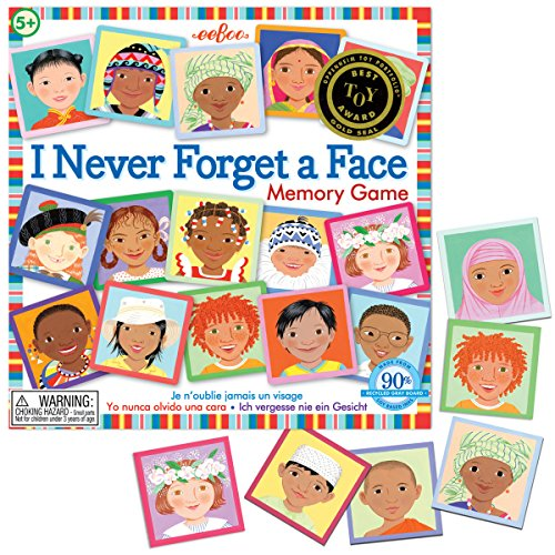 Multicultural Games & Puzzles: I Never Forget A Face Memory Game