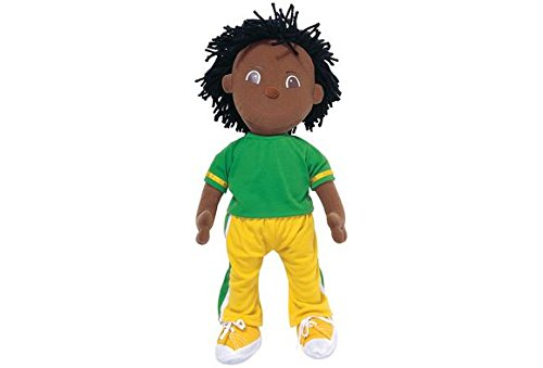 Multicultural Dolls & Puppets: African American Boy Cuddle Buddies