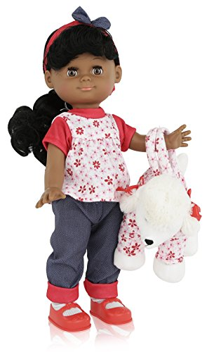 "Multicultural Dolls & Puppets: 12"" Dark Skin Girl Doll"