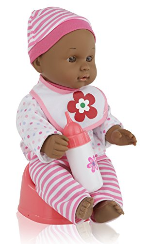"Multicultural Dolls & Puppets: 12"" Dark Skin Baby Doll"