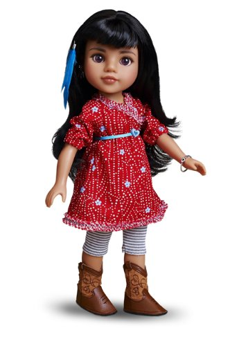 Multicultural Dolls & Puppets: Mosi American Indian Doll