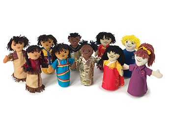 Multicultural Dolls & Puppets: Multi-Cultural Puppet Collection