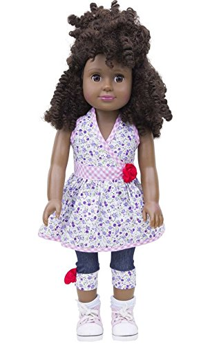 Multicultural Dolls & Puppets: Keva - Black African American Doll