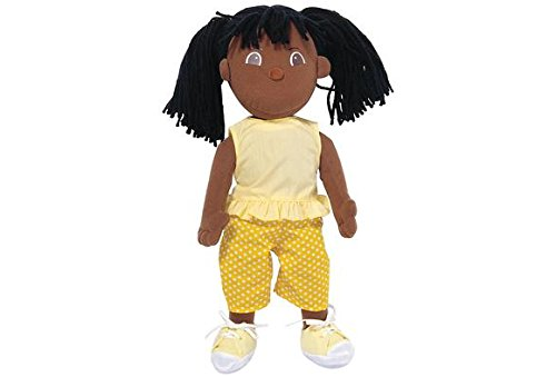 Multicultural Dolls & Puppets: African American Girl Cuddle Buddies