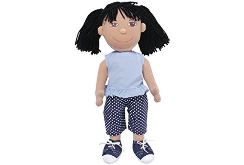 Multicultural Dolls & Puppets: Asian Girl Cuddle Buddies