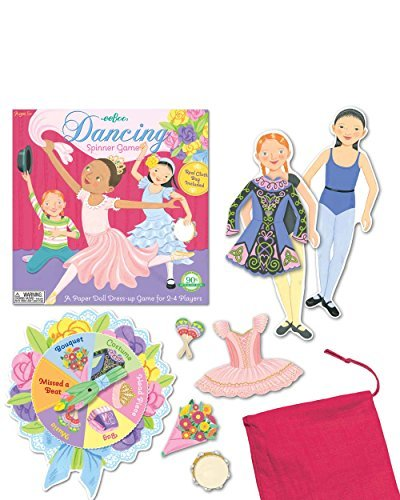 Multicultural Games & Puzzles: Dancing Spinner Game