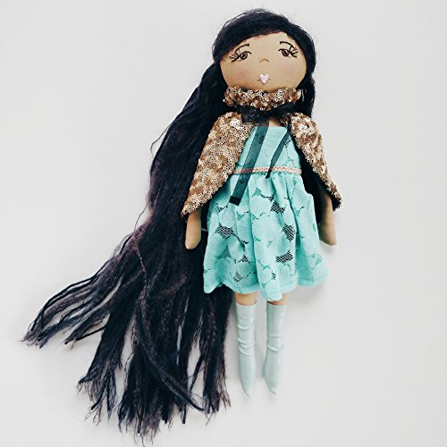 Multicultural Dolls & Puppets: Handmade Dress Up Fabric Doll