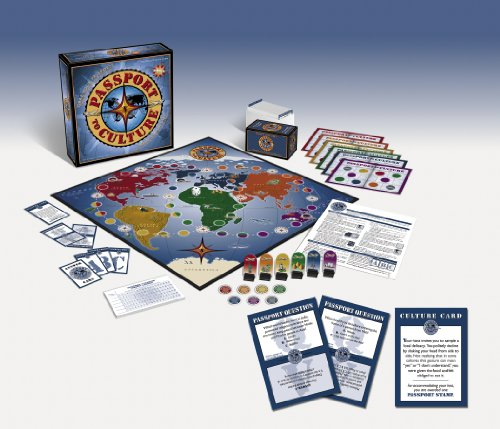 Multicultural Games & Puzzles: Passport to Culture Game