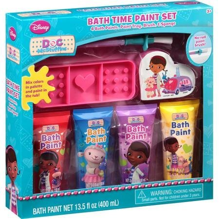 Multicultural Arts & Crafts: Doc McStuffins Bath Time Paint Set