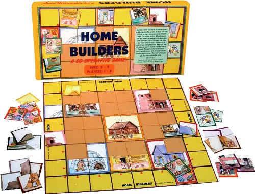 Multicultural Games & Puzzles: Home Builders Game
