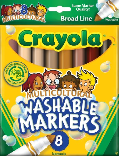 Multicultural Arts & Crafts: Multicultural Markers