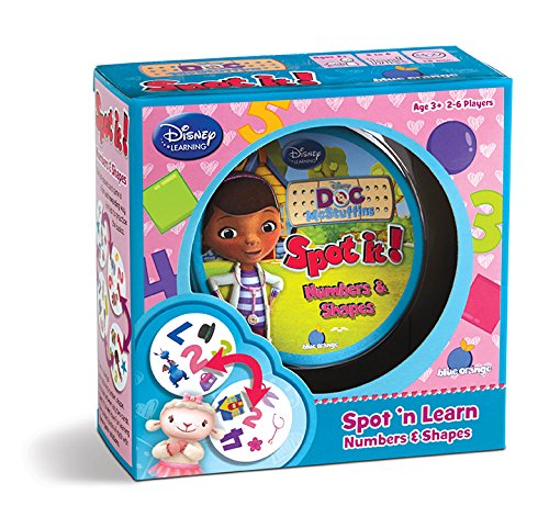 Multicultural Games & Puzzles: Doc McStuffins Numbers & Games