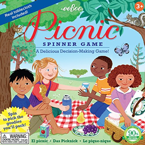 Multicultural Games & Puzzles: Picnic Spinner Game