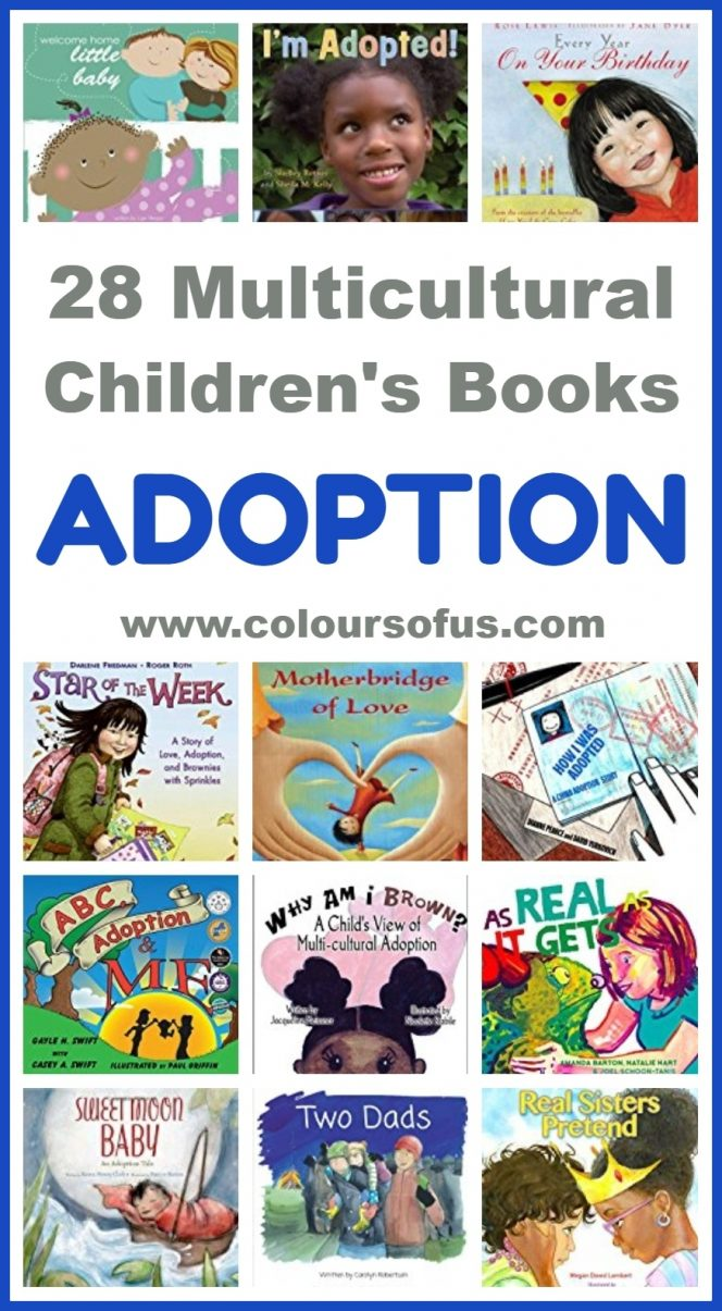 Multicultural Children's Books about Adoption
