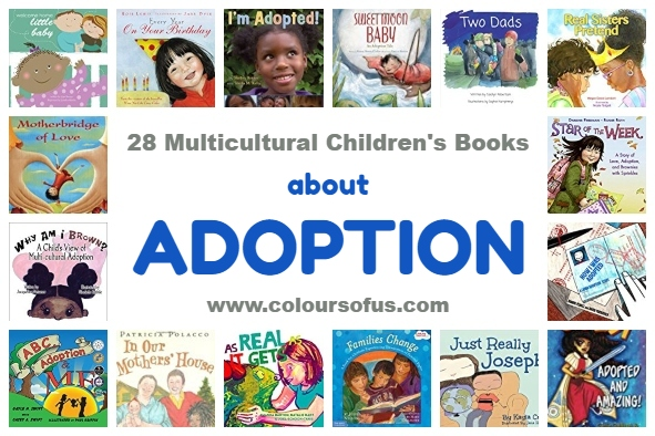 28 Multicultural Children's Books about Adoption