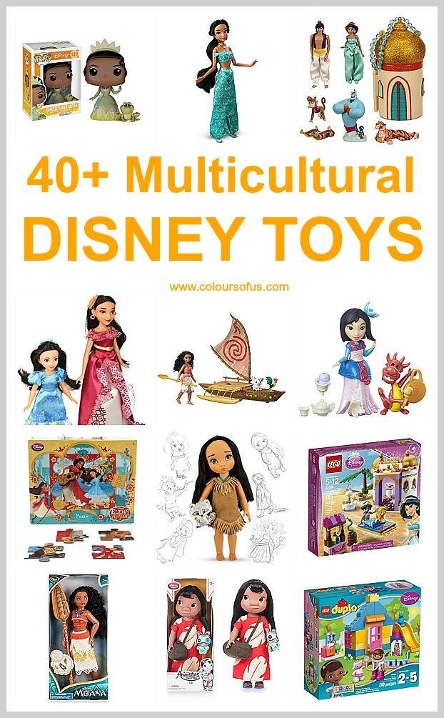 Multicultural Disney Toys
