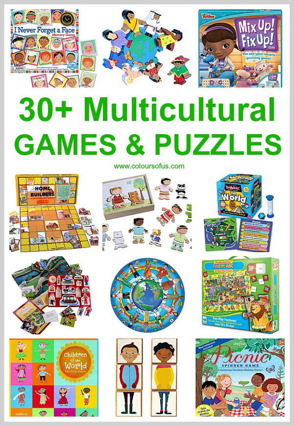 Multicultural Games & Puzzles