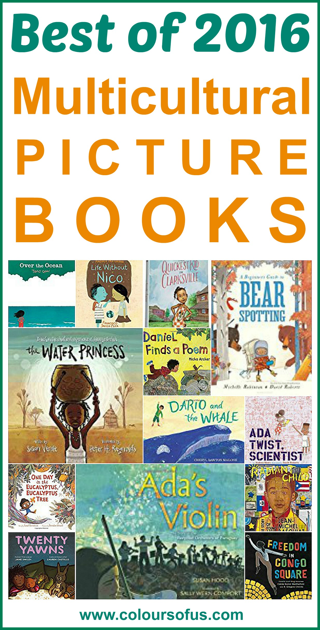 The 40 Best Multicultural Picture Books Of 2016 Colours