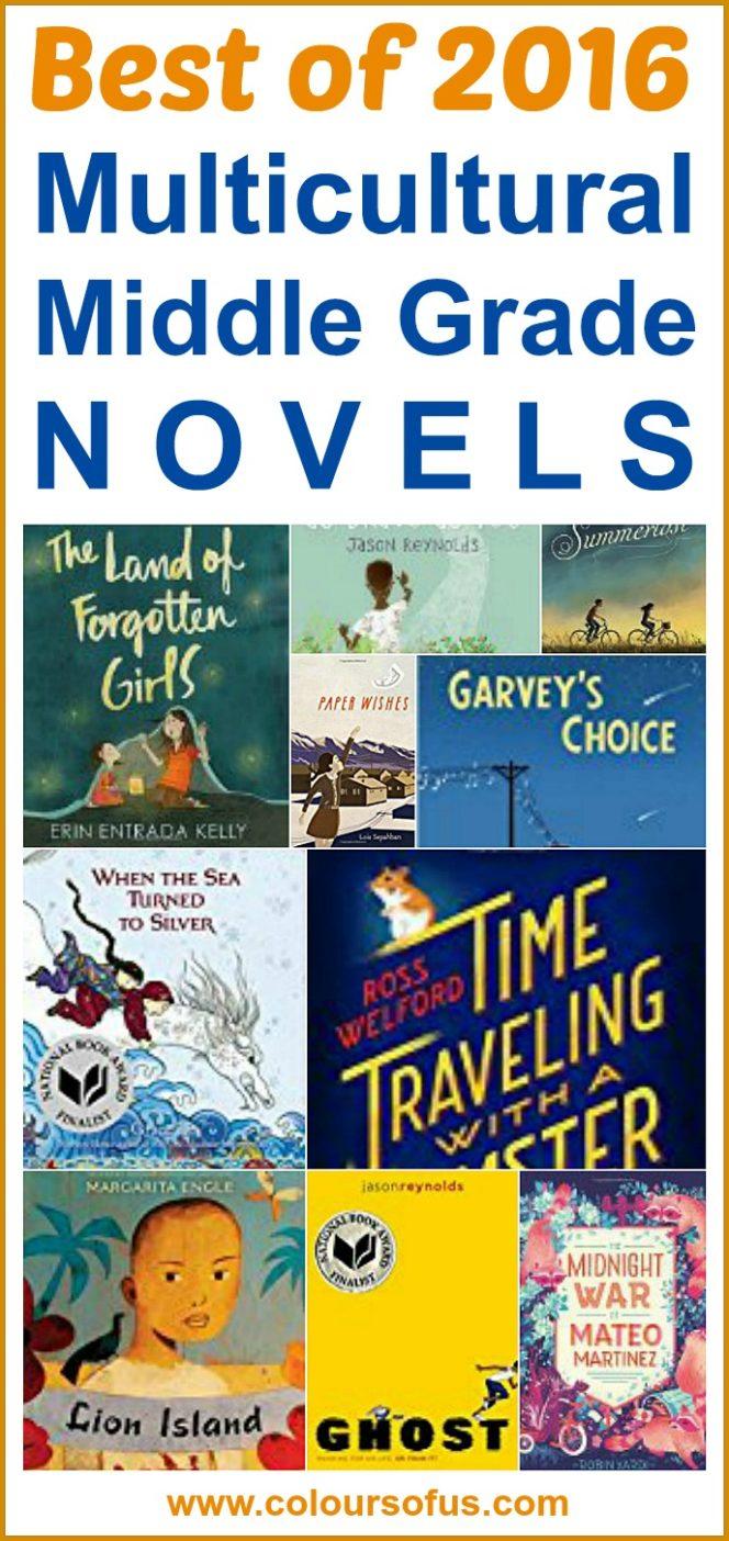 Best Multicultural Middle Grade Novels of 2016