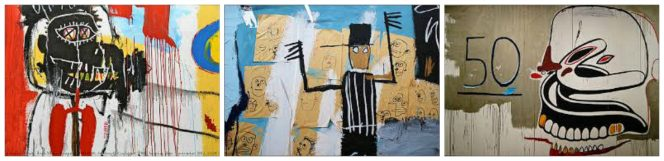 Radiant Child: Some of Basquiat's paintings