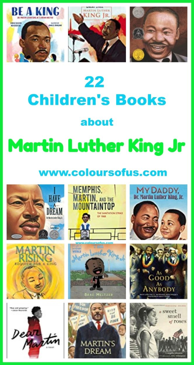 Children's Books about Martin Luther King Jr
