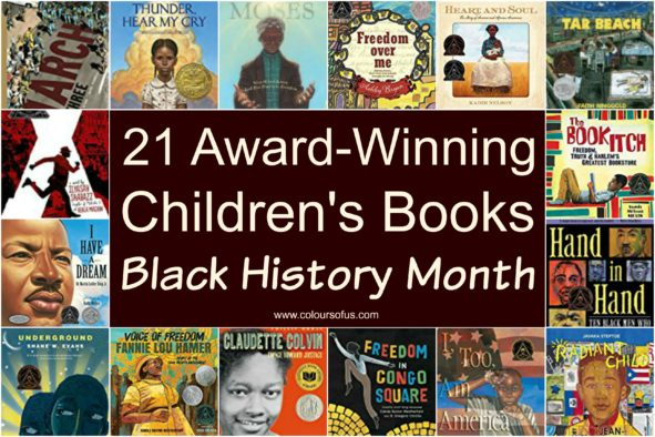 21 Award-winning Children's Books for Black History Month